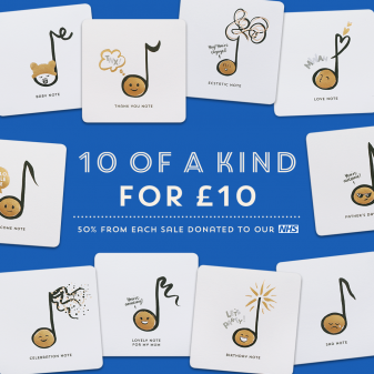 Card bundles for NHS
