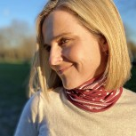 Neck Tube Scarf - Berry