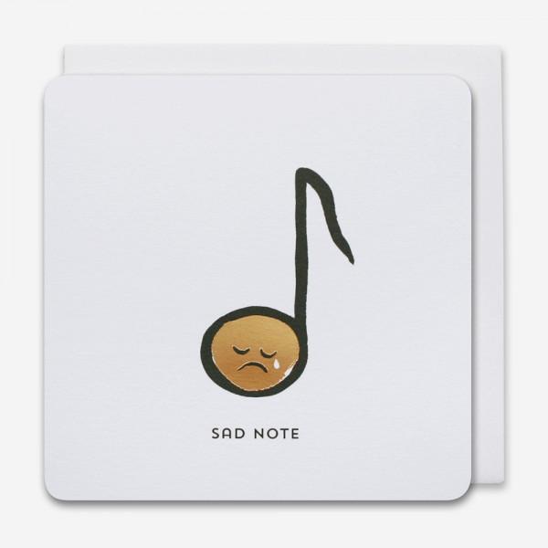 Sad note