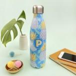 Pineapple Print Water Bottle