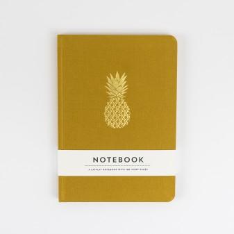 Pineapple Hardback Notebook