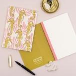 Seahorse Paperback Notebook